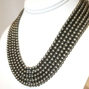 Jewelry - SALE !! Chunky Metal Ball Chain Necklace NEW